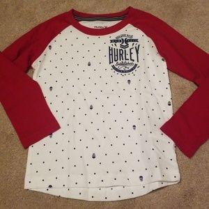 Hurley Shirts & Tops - Hurley raglan tee. Size 4t